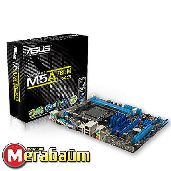 Мат. плата Asus M5A78L-M LX3 Socket AM3+