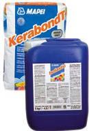 Клей для плитки в бассейне KERABOND T ISOLASTIC 25 кг + 8 л