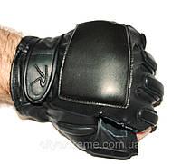 Тактичні рукавички шкіряні без пальців Rothco Tactical Fingerless Rappelling Gloves