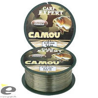 Леска Carp Expert Camou 1000 м 0.25 мм