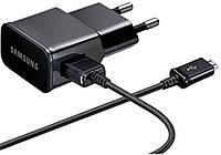 Сетевое зарядное устройство Samsung Travel Charger 1USB 2A + MicroUSB Cable 1m Black