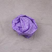 Простынь на резинке в детскую кроватку (фиолетовая)
