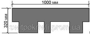 Битумная гибкая черепица Акваизол Акцент, фото 3