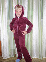 Спортивный велюровый костюм для девочки
