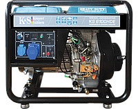 Дизельный генератор Konner&Sohnen KS 6000HDE