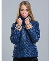 Куртка весенняя - 9 темно-синий р.42;44