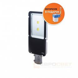 Светодиодный уличный светильник Евросвет ST-100-03 100W IP65