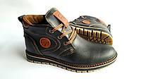 Мужские  зимние кожаные ботинки GS sport