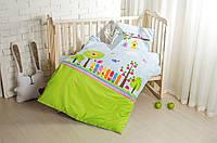 Постельное белье в кроватку Bird Garden 100% хлопок (3 предмета), Ideia (Идея)