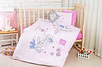 Постельное белье в кроватку  Little 100% хлопок (3 предмета), Ideia (Идея)