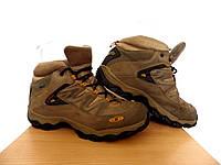 Ботинки Salomon (термо) р-р 38 (23,5см)  (сток, б/у) коричневые кожаные термо ботинки трекинговые , фото 1