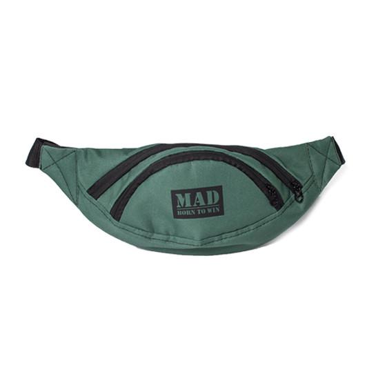 Поясная сумка MAD Lite Life (зелёный)