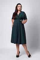 Женское батальное платье от производителя