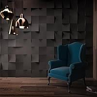 Гипсовые 3D панели для стен Квадро