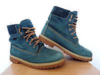 Ботинки Daumling SympaTex р-р 36 (23см)  (сток, б/у)  кожаные  timberland