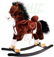 Детская лошадь-качалка музыкальная НОВАЯ В НАЛИЧИИ