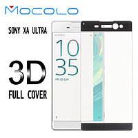 Защитное стекло Mocolo 3D 9H на весь экран для Sony Xperia XA Ultra Dual F3212 F3216 черный