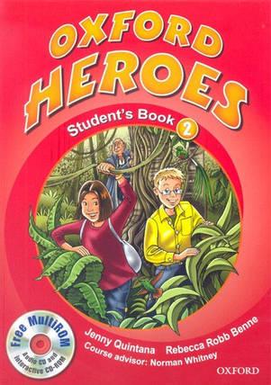 Oxford Heroes 2 Student's Book with MultiROM (Учебник), фото 2