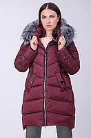 Теплое болоньевое пальто