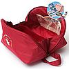 Дорожный футляр-сумка для бюстгальтеров (красный)