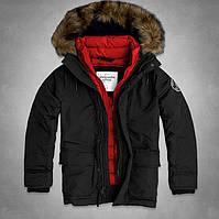 Стильные брендовые мужские зимние куртки ABERCROMBIE & FITCH. Хорошее качество. Доступная цена. Код: КГ2049