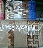 """Махровое лицевое полотенце  """"греческий орнамент"""" 12288-8"""