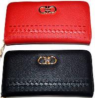 Женские кошельки портмоне на молнии (2 цвета)