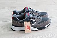 Мужские кроссовки New Balance 597 темно серые