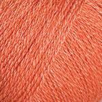 Турецкая  зимняя пряжа для вязания YarnArt Silky Wool (силки вул) шерсть с шелком 338 оранж