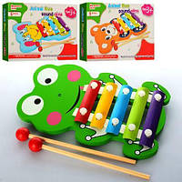 Деревянная игрушка Ксилофон E12586