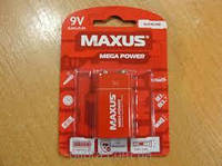 "Батарейки maxus ""Крона"" 9V-С1 блистер 1 шт лужна"