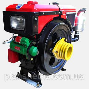 Двигатель Кентавр ДД1100ВЭ (16 л.с., дизель, электростартер), фото 2