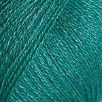 Турецкая  зимняя пряжа для вязания YarnArt Silky Wool (силки вул) шерсть с шелком 339 изумруд