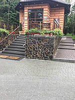 Камень Андезит Шоколад .