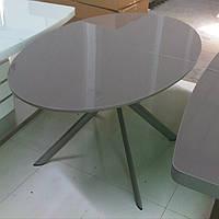 Стол круглый раскладной B 2400 капучино, Китай