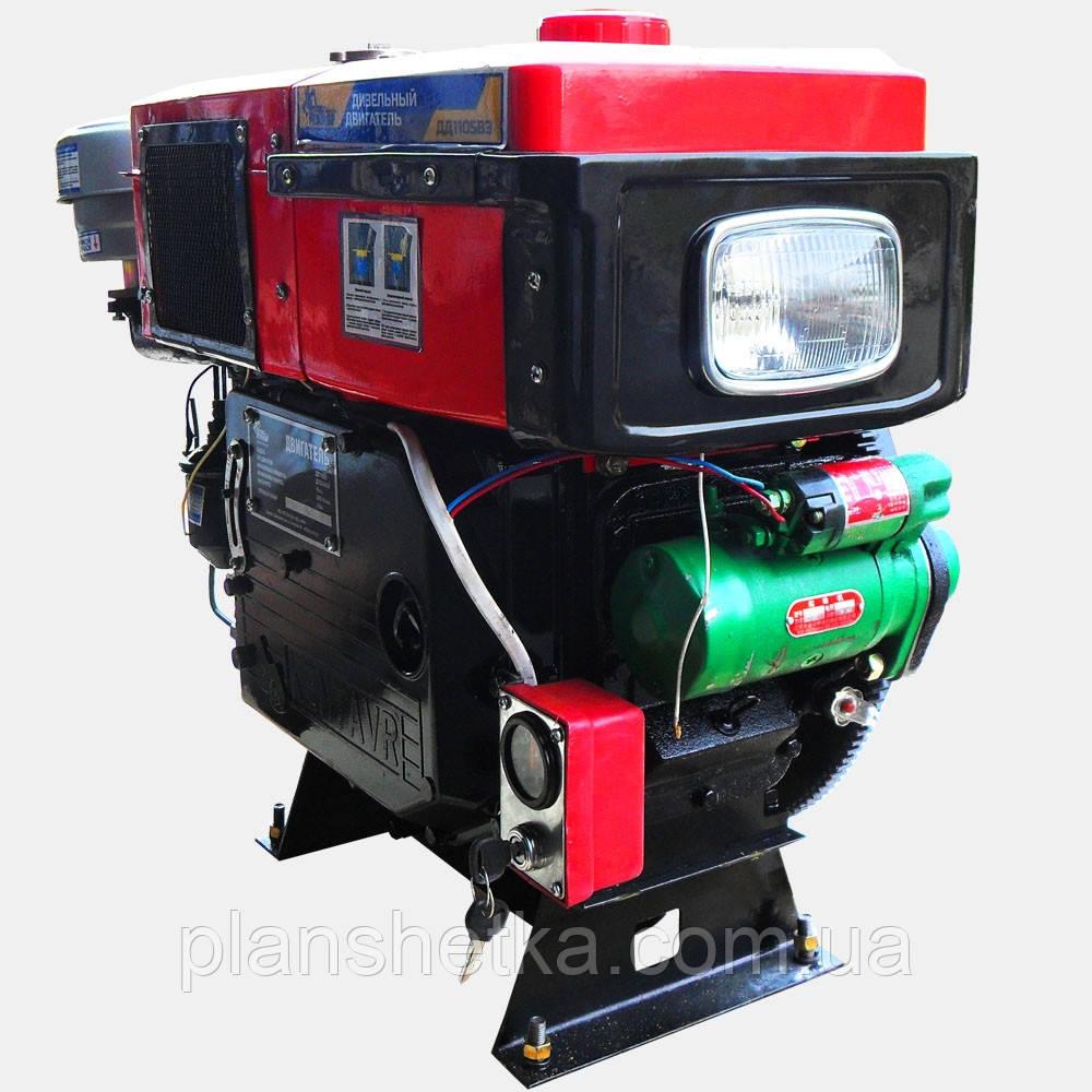 Двигатель дизельный Кентавр ДД1105ВЭ (18л.с., дизель, электростартер)
