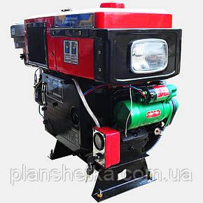 Двигатель дизельный Кентавр ДД1105ВЭ (18л.с., дизель, электростартер), фото 2