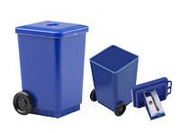 Точилка в форме мусорного ящика