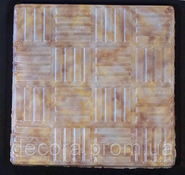 Формы для тротуарной плитки «Шахматка» глянцевые пластиковые АБС ABS