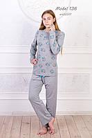 Пижама с брюками и джемпером