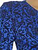 Платье с узорами и поясом из эко-кожи (в расцветках), фото 3