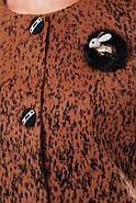Женское кашемировое пальто на осень / размер 50 / цвет горчица баталл , фото 5