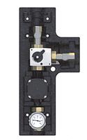 """Насосная группа для защиты обратной линии, 1 1/4"""" с насосом Grundfos UPM3 Hybrid 25-70, с сервомотором"""
