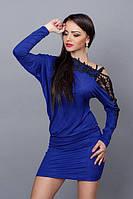 Красивое короткое женское платье туника
