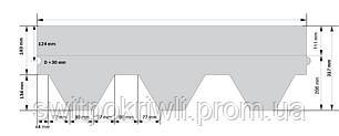 Битумная гибкая черепица Katepal Classik KL, фото 2