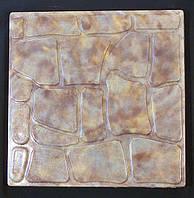 Формы для тротуарной плитки «Колотый камень» глянцевые пластиковые АБС ABS