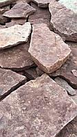 Камень песчаник Рапачка Красный