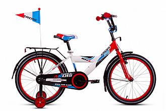 """Детский велосипед ARDIS GT BIKE 12"""" Белый/красный"""