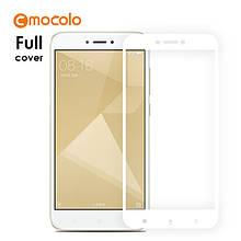 Защитное стекло Mocolo 2.5D 9H на весь экран для Xiaomi Redmi 4X белый