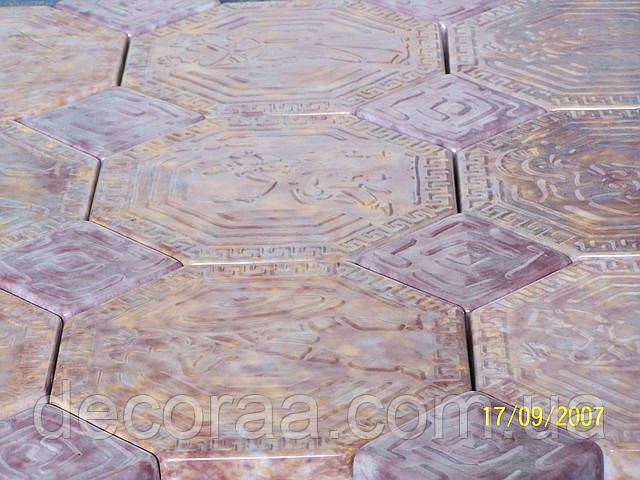 Формы для тротуарной плитки «Греция малая» 1.06 глянцевые пластиковые АБС ABS